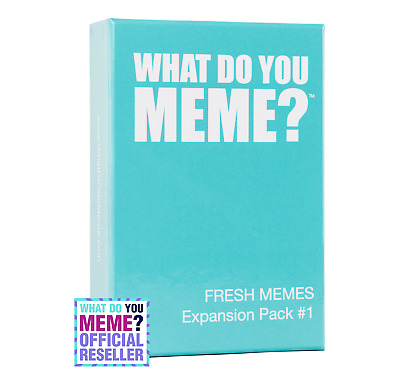 What Do You Meme? Fresh Memes Expansion # 1