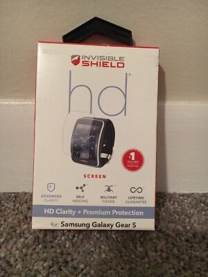 ZAGG InvisibleShield Screen Protector for Samsung Galaxy Gear S - NEW