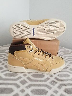 Reebok Royal Complete Size Men's 7.5 Gold/Wheat/Brown Woman's 8.5