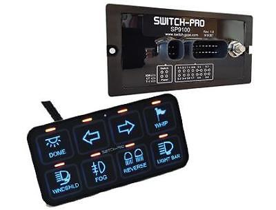 Genuine US MFG Switch-Pros SP9100 Programmable Bezel 8 Switch Panel System