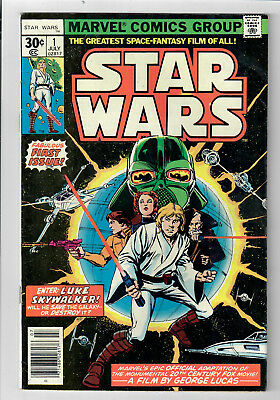 STAR WARS #1 (Marvel) - Grade 7.0 - First Printing! Standard 30 cent cover!!