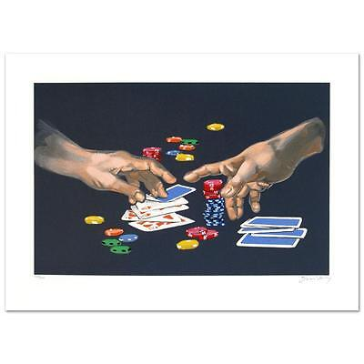 "Waldemar Swierzy ""First Gamble"" Limited Lithograph (1931-2013) Hand Pulled"