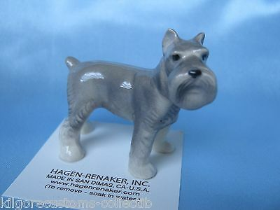Hagen Renaker Dog Schnauzer Figurine Miniature 898 FREE SHIPPING NEW