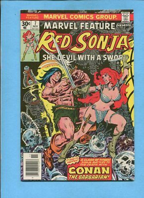 Marvel Feature #7 Presents Red Sonja November 1976 Comic Frank Thorne VF/NM