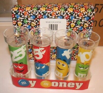 M&Ms M&M Coin Sorter Bank BRAND NEW Mars Candy