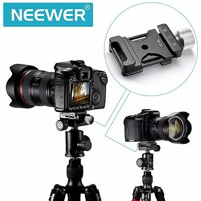Pro Neewer 38MM Quick Release Clamp Adapter For Tripod Ball Head Arca Swiss US