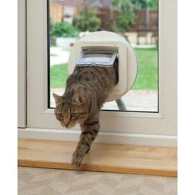 SureFlap Microchip Cat Door with Mounting Adaptor