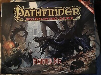 Pathfinder Role Playing Game Beginner Box Paizo PZO1119-1 2013 RPG