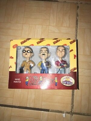 The Pep Boys Set Hand Painted Limited Edition Bobbleheads
