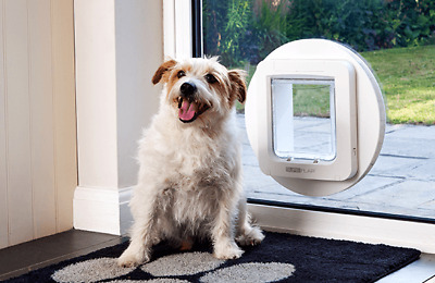 SureFlap Microchip LARGE Pet Door (lg cat, small dog) with Mounting Adaptor