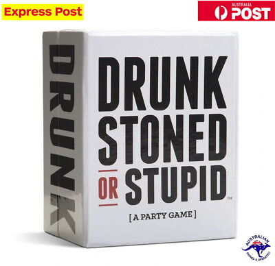 Drunk Stoned Or Stupid A Party Card Game For Adults  Stock New!!!