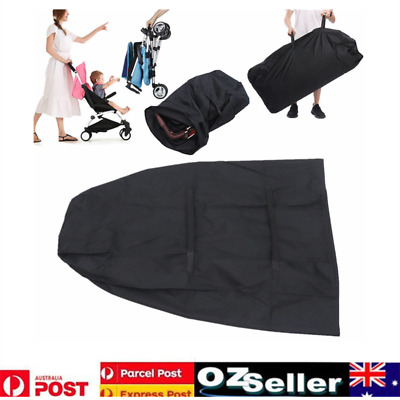 Infant Pushchair Storage Bag Umbrella Bag Stroller Pram Cover Travel Bag AU