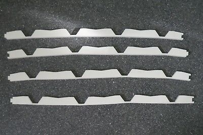 White Trimdeck Foam Infill Strips Top Style Roof Seals 770Mm Long Free Post
