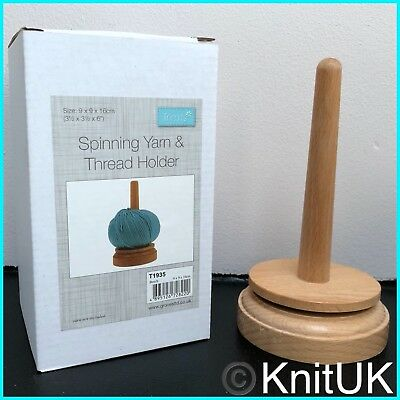 Wooden Spinning Yarn & Thread Holders - Classic Knit
