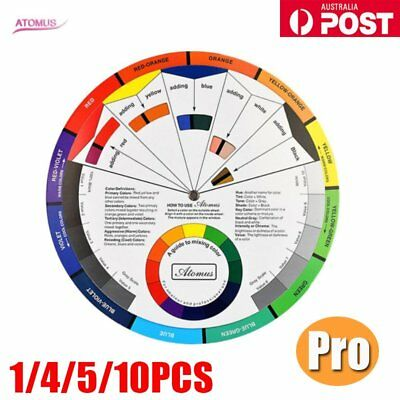 Artists Colour Wheel Mixing Colour Guide Pocket Artist Colour Wheel AU
