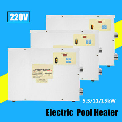 5.5/11/15kW Digital Electric Water Heater Thermostat Swimming Pool & SPA Hot Tub