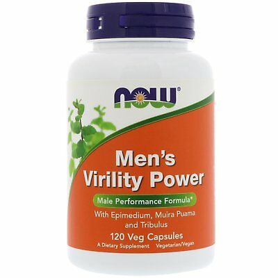 Now Foods Mens Virility Power, x120Vcaps with Macca / Maca