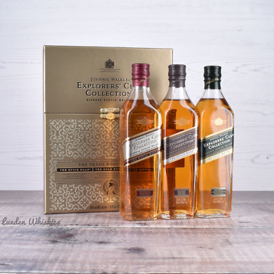 Johnnie Walker Explorers Club Collection The Trade Route Scotch Whisky Pack