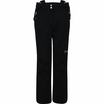 Dare 2B Stand For Ii Ladies Ski Pants Snowboarding Black Salopettes Slim Leg