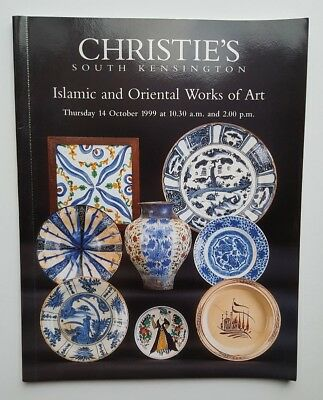 Auction Catalog Christie's London Islamic & Oriental Works of Art October 1999