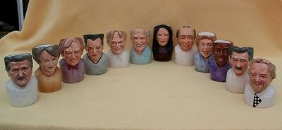 Bairstow Manor Chefs 12x Limited Edition Character Jugs Jamie Oliver Ramsey