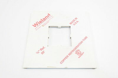New Wieland 1/4 Ref 50 Wcp Copper Refrigeration Tubing 50Ft 1/4In D591086