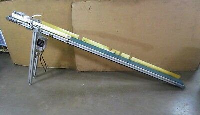 """No Name 5""""x98"""" Variable Speed Electric Conveyor System 1/8Hp 460V 6.4Fpm @ 60Hz"""