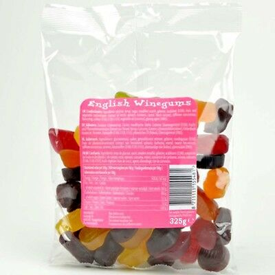 English Winegums - Englische Weingummis 325g MHD: 30.09.18