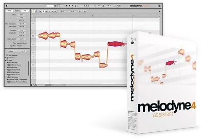 Melodyne 4 Assistant Vocal Processing Software