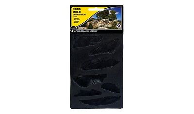 Woodland Scenics Embankment Rock Rubber Rock Mold Item # C1233 Factory Sealed