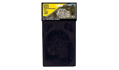 Woodland Scenics Laced Face Rock Rubber Rock Mold Item # C1235 Factory Sealed