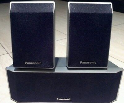 Panasonic sound theater speakers computer system sb-hs  560 color silver lot