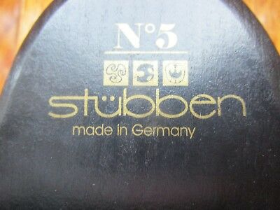 Nwot Stubben No.5 Soft Bristles Horse Grooming Brush Made In Germany