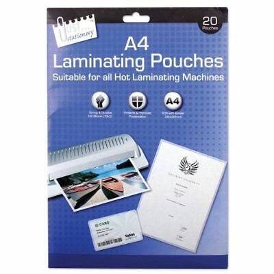 Just Stationery A4 Laminating Pouch Pack of 20