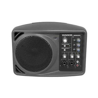 "Mackie SRM150 5"" Compact Active PA Monitor System Speaker BRAND NEW"