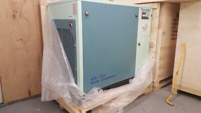 New 10HP Screw Air Compressor - 230V/3PH