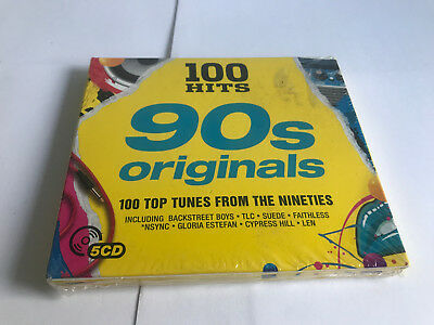 Various Artists : 100 Hits: 90s Originals CD (2017) NEW SEALED 0654378718229