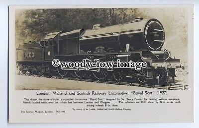 "ry1254 - London, Midland & Scottish Railway Locomotive. ""Royal Scot"" - postcard"
