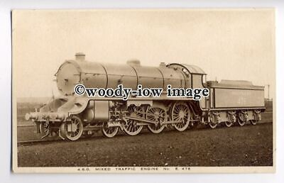 ry1261 - 4.6.0. Mixed Traffic Engine No. E.476 by Southern Railways - postcard