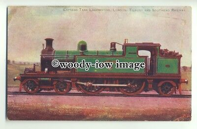 ry1321 - London,Tilbury & Southend Railway,Stepney Green Exp.Tank Loco- postcard