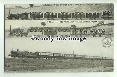 ry1328 - L.&. N.W.R. First, Second & Special Boat Express Locomotives - postcard