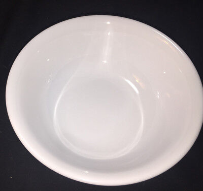 "Vintage CORELLE WINTER FROST WHITE 6 1/4"" Soup Chili Cereal Bowls"
