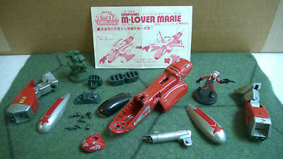 Orguss 1/60 scale M-Lover Maaie anime mecha toy, broken, good for WH40K bits