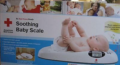 The First Years American Red Cross Soothing Baby Scale