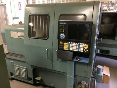 Mori Seiki SL3A Lathe with New Controller, Spindle Drive,Servo Motors & Drives