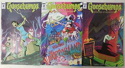 3x New GOOSEBUMPS Monsters At Midnight Comic # 2 + VARIANT Covers ~ IDW