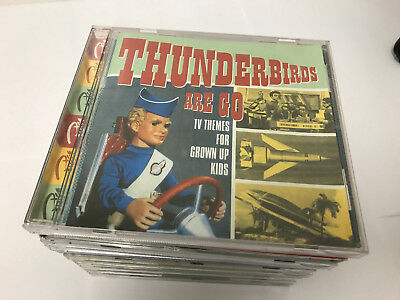 Thunderbirds Are Go: TV Themes for Grown Up Kids CD (1998) EX/EX 5016073719522