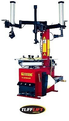 Tyre Changer with Swing Arm with Controlled Assist Arm C201GB-DAS Tufflift