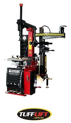 Tyre Changer with Inflation System, Toolbox and Assist Arm C233GCIT-NAAR
