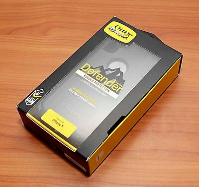 """AUTHENTIC OtterBox Defender Series Case w/Holster for iPhone XS X 10 5.8"""" NEW"""